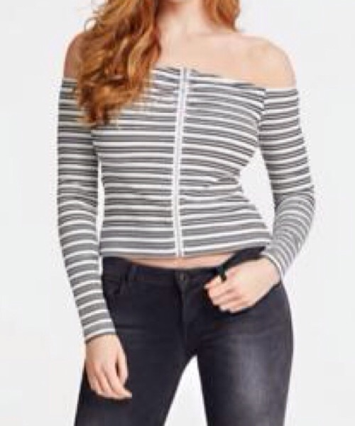 TOP SPALLE SCOPERTE Guess