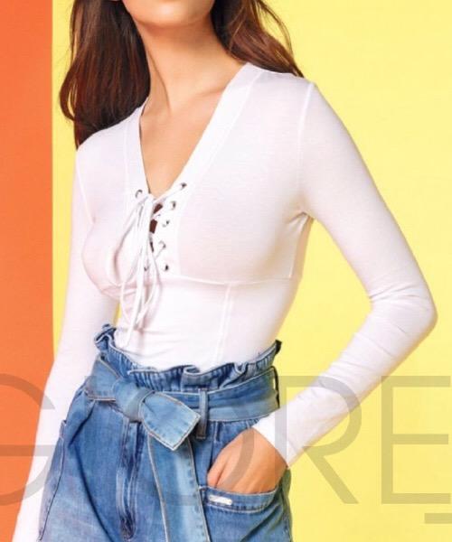 Denny Rose T-shirt manica lunga 111DD60015